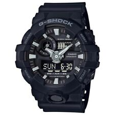 Casio G-Shock Mens Wrist Watch GA700-1B GA-700-1B Black Super Illuminator