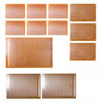 12pcs KIT Prototyping PCB Printed Circuit Board Prototype Breadboard Stripb A0J6
