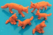 PLAYMOBIL Füchse Fuchsfamilie Waldtiere zu Forsthaus Wald