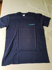 T-Shirt / Freizeithemd - blau - Gr. L - 100 % Baumwolle pre-shrunk - neu/OVP