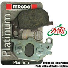Cagiva MITO 2 125 PRODUCTION RACER Trofeo 1994 Platinum Rear Disc Brake Pads