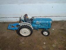 BRITAINS - FORDSON TRACTOR - WITH DRIVER & ATTACHMENT - 1/32 SCALE -