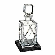 Waterford Olann Decanter Square 28 oz with Marble Coaster #40031001