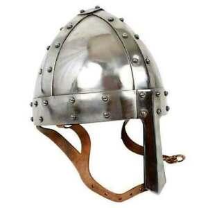 Norman Helmet Viking Armor Medieval 18 Gauge Steel Collectible Replica gift