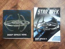 STAR TREK DS9 DEEP SPACE NINE STARSHIPS COLLECTION EAGLEMOSS MODEL & MAGAZINE