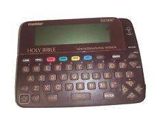 Franklin Electronic Bookman Holy Bible Niv 640 New International Version w/Case