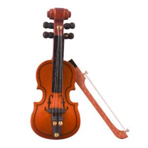 1/12 dollhouse Personalized Mini Violin Decorative Customized Ornaments Mode.BI