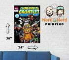 Infinity Gauntlet #1  Cover Wall Poster Multiple Sizes 11x17-24x36