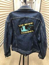 Men's VTG 90's The Movie Channel Denim Lee Jacket Sz 46R XL
