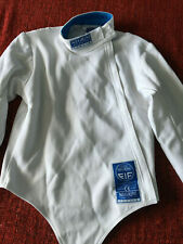 "New Negrini made in Italy Fie Stretch Fencing Jacket men's Right 38"" = 46 Euro"