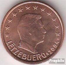 Luxemburgo 2 2004 flor de cuño 2004 moneda de curso legal 2 Cent