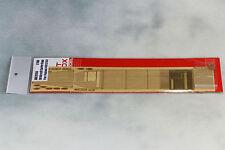 Artwox 1/700 IJN Aircraft Carrier Kaga Wooden Deck Set w/PE for Fujimi #431253