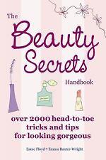 NEW The BEAUTY SECRETS Handbook 2000 Tricks & Tips Skincare Cosmetics Haircare