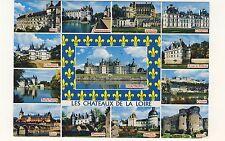 Old Postcard (1987) - Les Chateaux De La Loire (Various Views) - Posted 0267
