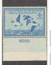 US Sc RW15 1948 Duck Stamp F/VF MNH