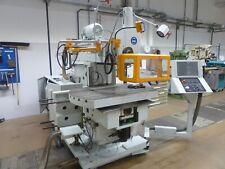 Retrofit für eine Maho 900 CNC Fräse mit neuen Achsmotoren - moderner Steuerung