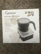 Capresso Froth PLUS Automatic Milk Frother (Silver and Black)