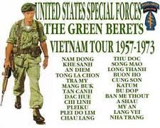 Special Forces Green Beret Vietnam concert tshirt