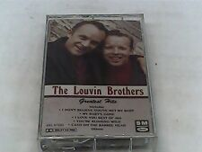 The Louvin Brothers - Greatest Hits - Cassette - SEALED  4XL 57222