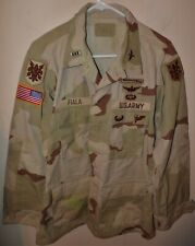 U.S. ARMY DCU CAMO COMBAT COAT - 205th MILITARY INTELL PILOT - MED-REG