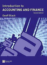 Introduction to Accounting and Finance Plus MyAccountingLab powered by CourseCompass Student Access Card by Geoff Black (Mixed media product, 2009)