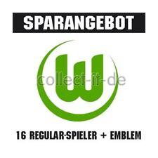 Match Attax 12/13 - 15 Basecards + Top Tansfer + Wappen VfL Wolfsburg