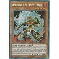 FIGA-EN012 Brotherhood of the Fire Fist - Elephant | 1st Ed | Secret Rare YuGiOh