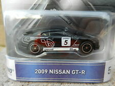 2016 Hot Wheels *GRAN TURISMO* #5 = BLACK 2009 Nissan GT-R Race Car *NIP*