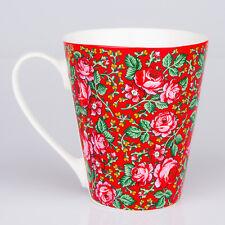 Mug - Folk Pattern  /  Góralski kubek FOLK  - czerwony