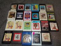 Lot Of 23 Vintage 8 Track Tapes