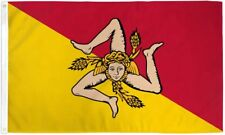 "SICILY 3X5' FLAG NEW 3'X5' 3 X 5 FEET 36X60"" BIG"