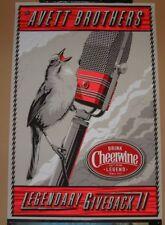 Avett Brothers Charles Crisler Poster Print Cheerwine Legendary Giveback 2 Art