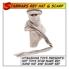 HOT TOYS Star Wars Rey Sand Hat and Scarf Set MMS336 fit 1/6 12 in scale Female
