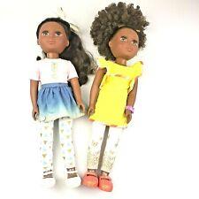 Glitter Girls Keltie And Nelly 14 Inch Poseable Fashion Doll by Battat EUC