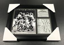 BIG RED MACHINE PETE ROSE BENCH 1975 WORLD SERIES CHAMPIONS 8X10 FRAMED PHOTO