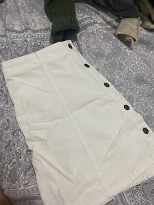 Topshop Cord Skirt