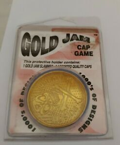 Vintage Poggs, Gold Jam Cap Game, Poggs with Jammer