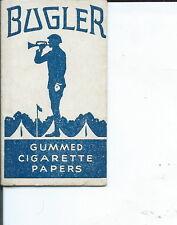 AC-003 - nine Bugler Cigarette Rolling Paper Wrappers Antique Vintage