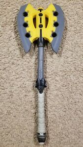 Nerf N-Force Foam Warlock Axe 2010 - Used Good Condition