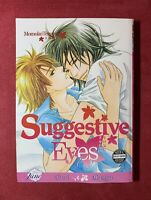 Suggestive Eyes, by Momoko Tenzen, UNREAD Yaoi English Manga June 2009 Paperback