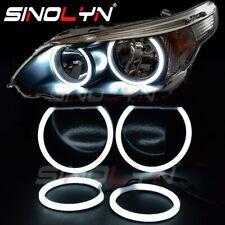 Angel Eyes For BMW E60 E61 520i 525i 530i 540i 545i 550i M5 Xenon Headlight DIY