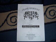 CRANE SPORTS V STONHAM ASPAL 05/06 OMNICO CUP
