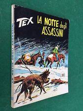 TEX GIGANTE n.167 NOTTE ASSASSINI L.300 Daim Press (ITA 1° Ed 1974) Fumetto MB