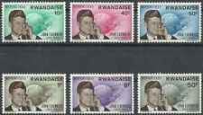 Timbres Personnages Kennedy Rwanda 122/7 ** lot 26530