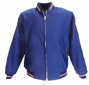 Mens Navy Classic Monkey/Harrington Jacket