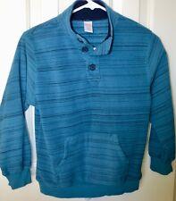 Gymboree Boys Fleece Pullover Size Medium M 7-8 Blue