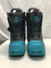 Burton Women's Starstruck Boa Snowboard Boots US 6 Charcoal Teal NEW