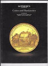 SOTHEBY's  COINS & BANKNOTES - London, 1994 catalogue
