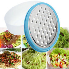 Multifunction Stainless Steel Food Vegetable Cheese Grater Slicer Container Box