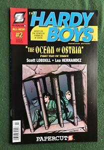 The Hardy Boys #2 Papercutz Modern Age The Ocean of Osyria Franklin Dixon vf/nm